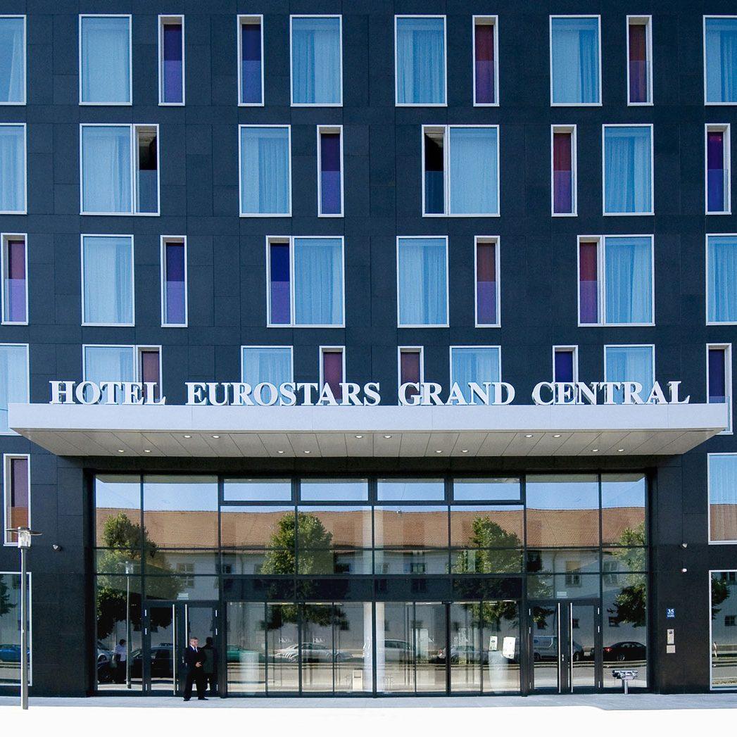 Eurostars Grand Central Hotel Munchen Lupp Startseite